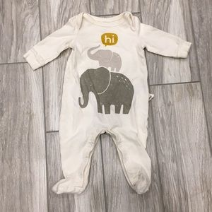 Baby Gap Gender Neutral elephant sleeper